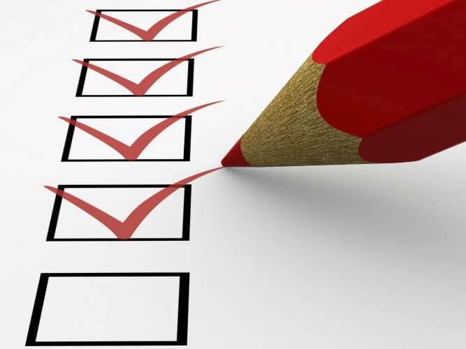 Checklist BelastingAangifte 2016